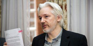 Julian Assange - Foto: Ricardo Pati, Cancilleria del Ecuador. Llicens: CCBY-SA2.0, Wikimedia-Commons