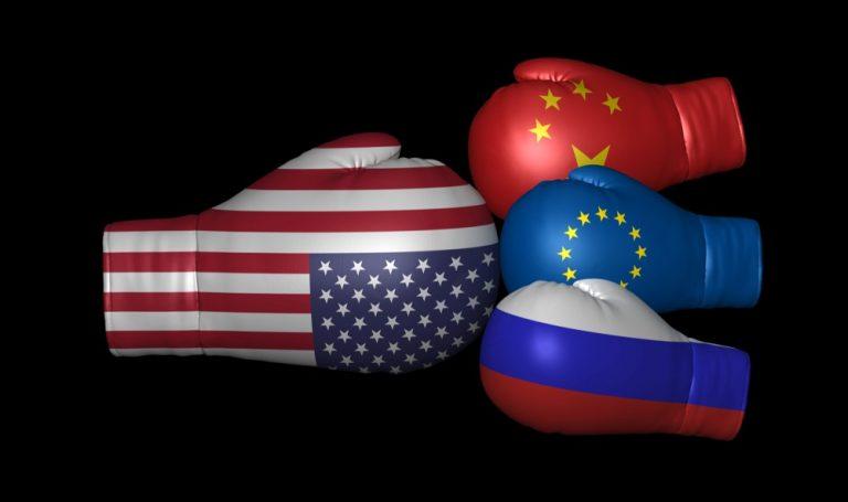 Viktigt gap: Européer tycker inte att deras länder är indragna i kallt krig, fast de anser att USA är det