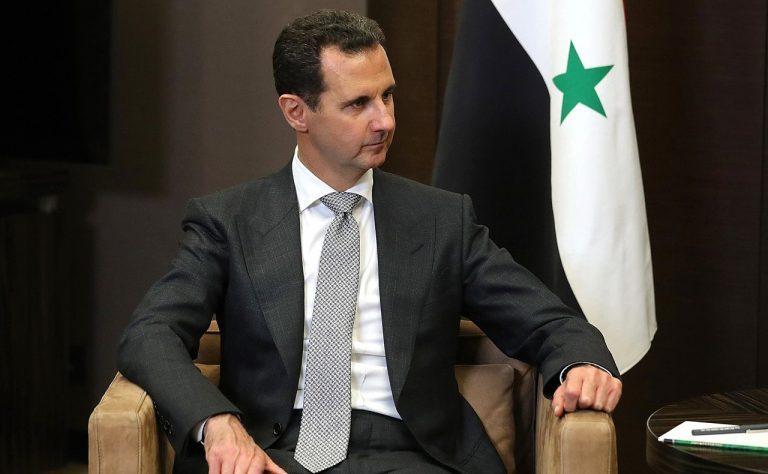 Syriens president al-Assad hyllar och diskuterar befrielsen av Aleppo!