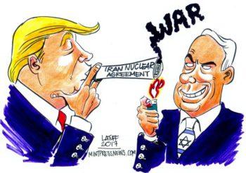 Newsweek: Israels Netanyahu säger att han vill ha krig mot Iran, och söker stöd i arabvärlden.