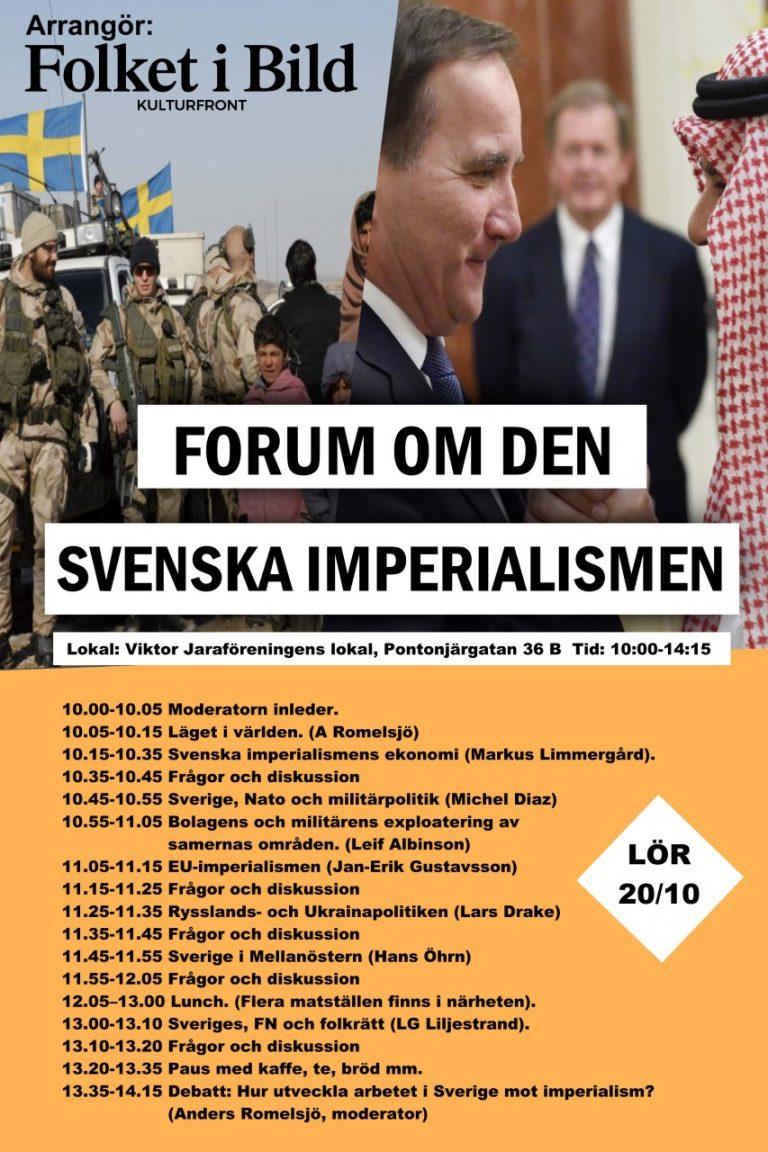 Svenska imperialismens ekonomi