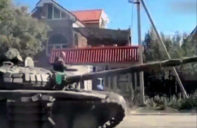 """Som observatör vid valet i Donbass, Ukraina. """"Varför får vi inte bli en del av Ryssland?"""""""