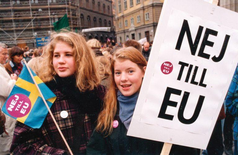 Vad tycker Folkrörelsen Nej till EU? – Pressmeddelande