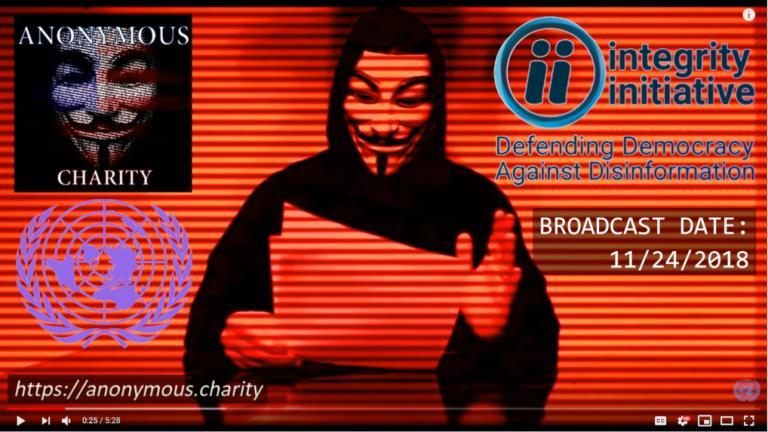 Desinformation av rysk desinformation av Martin Kragh, misstänkt som samordnare i Integrity Initiative