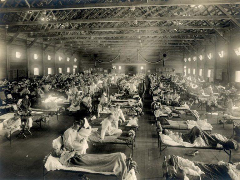 Spanska sjukan – Första världskrigets influensapandemi kan ha skördat 100 miljoner offer