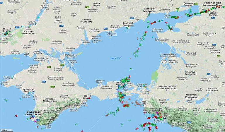 Krisen i Azovska sjön. Ryssland får skulden utan utredning, som vanligt