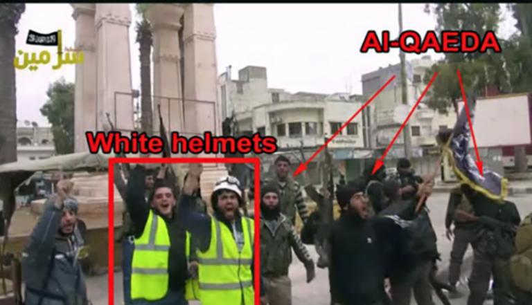 Vita hjälmarna medger att de arrangerade en falsk gasattack i Syrien – Assad fick skulden.