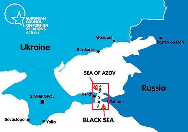 Lugnet före stormen i Azovska sjön?