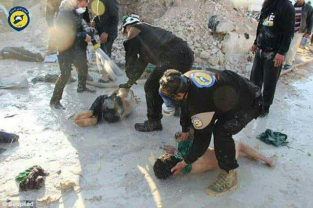 Al Nusra planlägger en ny gasprovokation i Idlib, Syrien