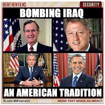 """USA  ville bryta sönder Irak och skapa en """"sunnistat""""."""