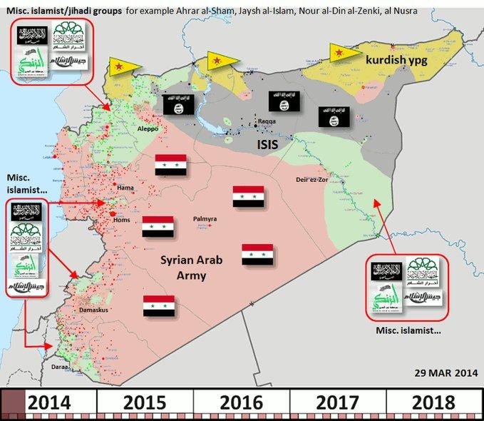 Hur utvecklas kriget i Syrien?
