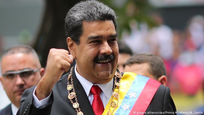 Maduro kallar till nyval i Venezuela alltmedan  dialog pågår.