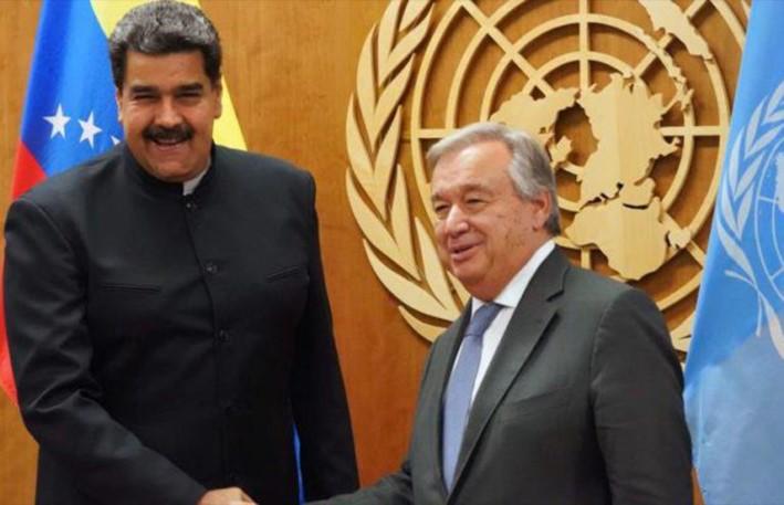 För Fred, Stoppa USAs krig mot Venezuela!