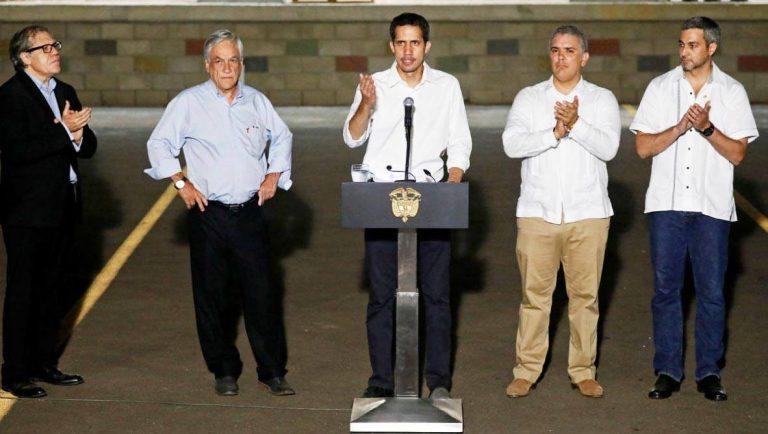 Venezuela: Om matleveranser och om USA:s och Guadiós plan för utländsk intervention.