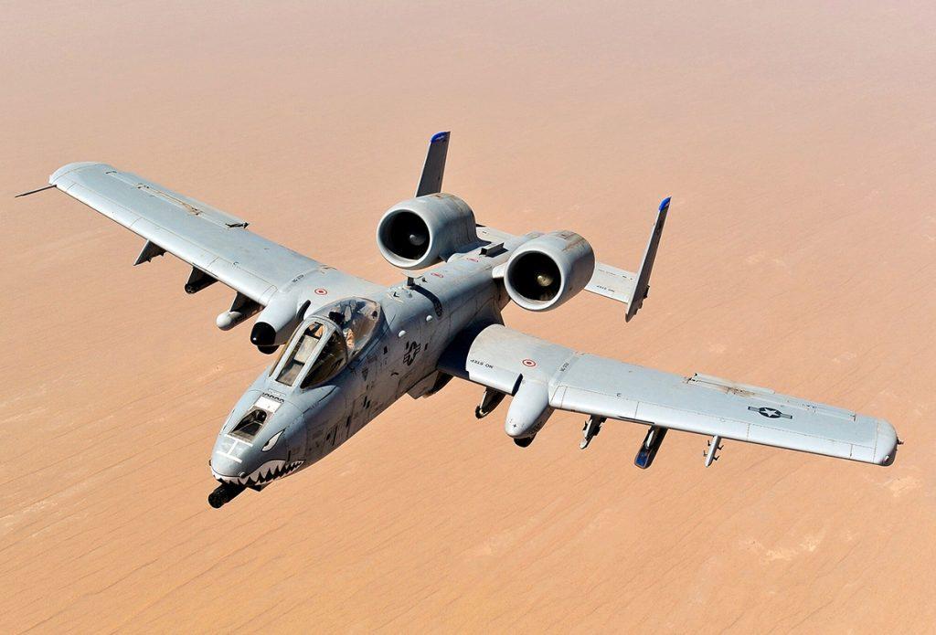 A-10 Thunderbolt II. Photo: U.S. Air Force, Sgt. William Greer