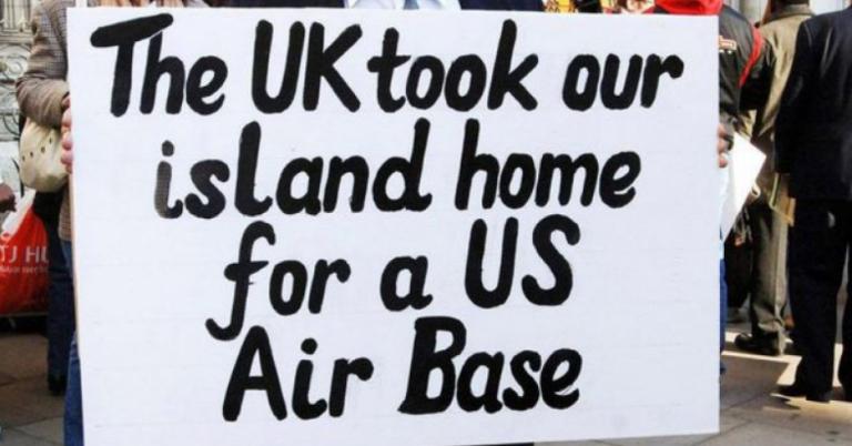 Brutal kolonial folkförflyttning bakom den stora USA-basen Diego Garcia fördöms av FN