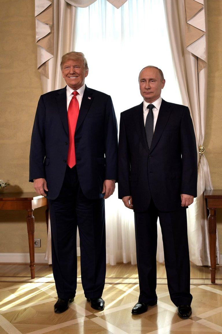Ryssland föreslår samarbete med USA mot intervention i val och för cybersäkerhet