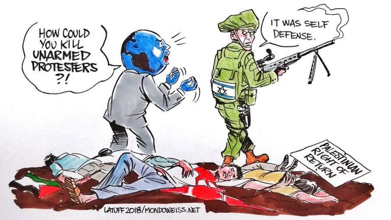Förtrycket fortsätter i Palestina