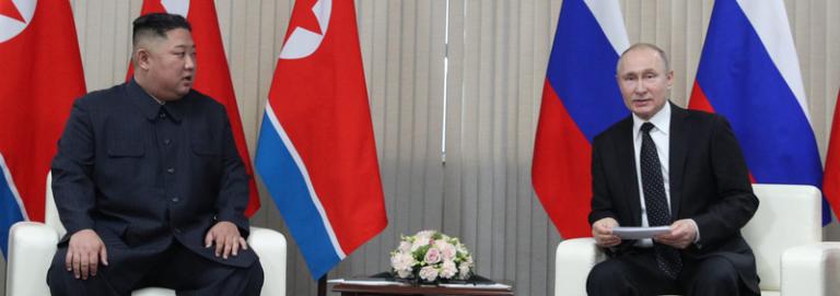 Hur se på mötet mellan Kim och Putin?