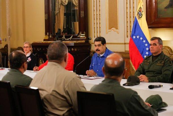 Misslyckat statskuppsförsök i Venezuela?