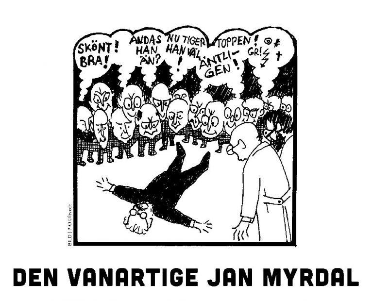 Den vanartige Jan Myrdal diskuteras och hyllas vid seminarium 14 april. Köp de sista biljetterna!
