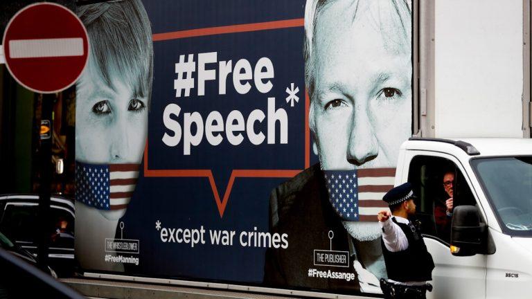 Till försvar för Julian Assange och yttrandefriheten! Kom till unika möten idag med Assanges pappa!