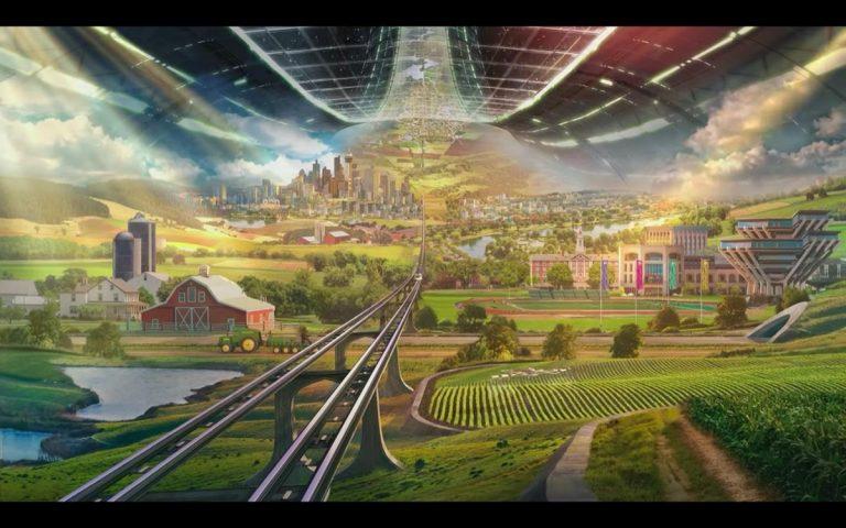 Världens rikaste man, Amazons Jeff Bezos, avslöjar sin fula vision för den värld han försöker att styra