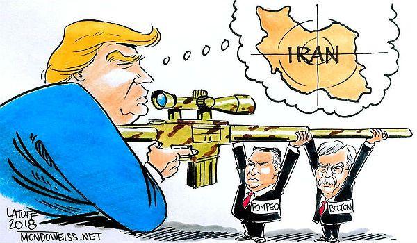Förbereder USA krig mot Iran?