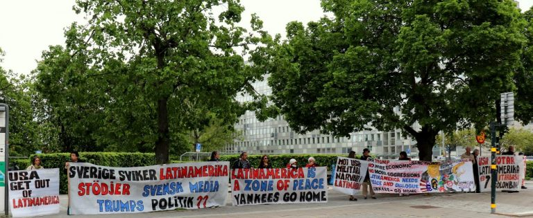 Till Sveriges Radios och Televisions redaktioner – upprop och manifestation till stöd för Venezuela!