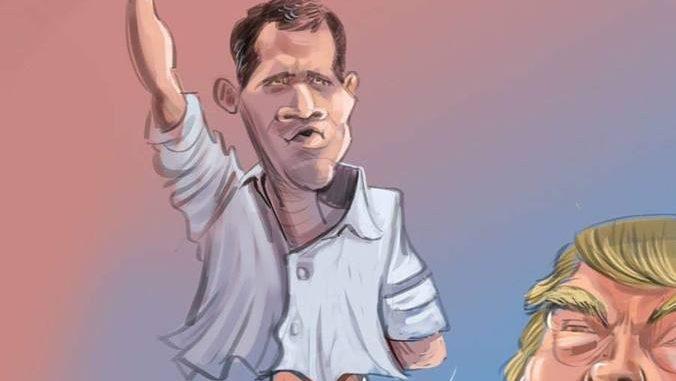 Juan Guaidó vill att USA ska annektera Venezuela