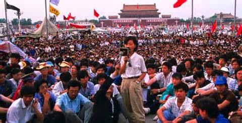 Vad ansåg man i Kina om händelserna på Himmelska Fridens Torg och i landet våren 1989?