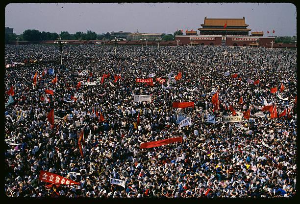 Försökte USA att starta en revolt i Peking 1989 och åstadkomma regimskifte i Kina?