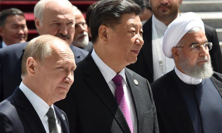 Kina, Ryssland och Iran: Basen för en ny världsordning.