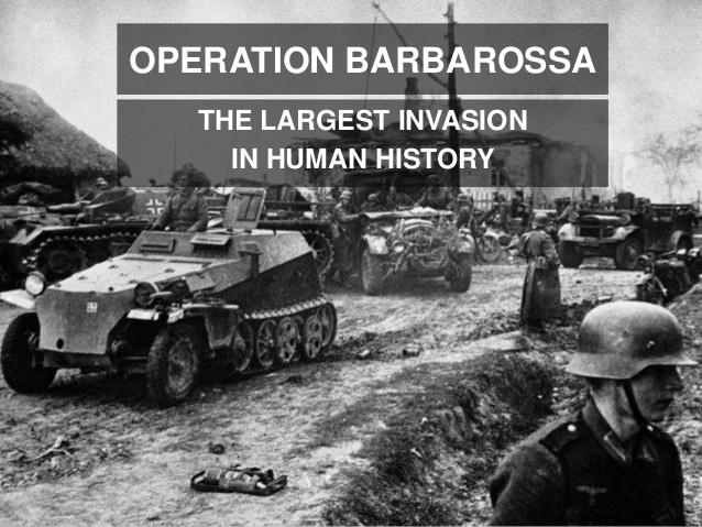 Operation Barbarossa – En mörk årsdag i ljus midsommardag
