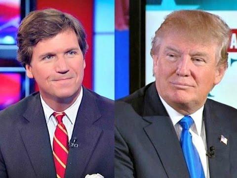 """USA har angripit Iran! Vad säger Tucker på Fox News – """"mannen som uppsköt kriget"""" och andra media om Trumps krig mot Iran."""