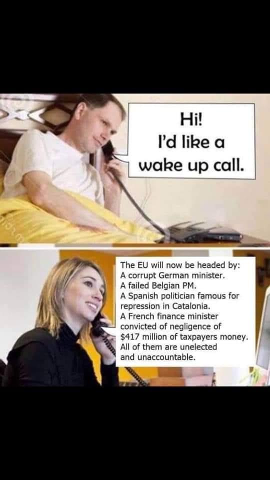 Fyra Bilderbergare EUs nya makthavare? Ja, så blev det.