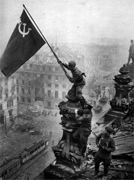 Segerparaden 75 år efter Andra Världskriget