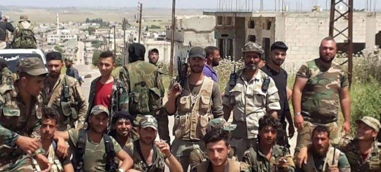Vilka hjälpte kurderna? Jo Syriens arabarmé, trots kurdernas samarbete med angriparen USA.
