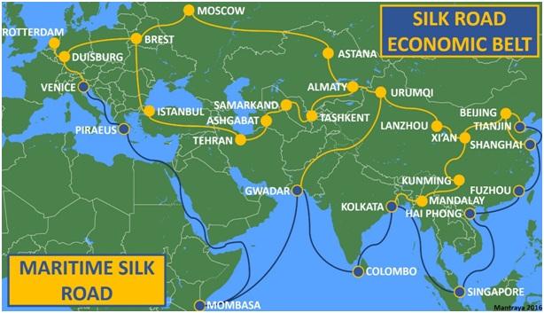 Kina bygger Hälsosidenvägen mot coronapandemin