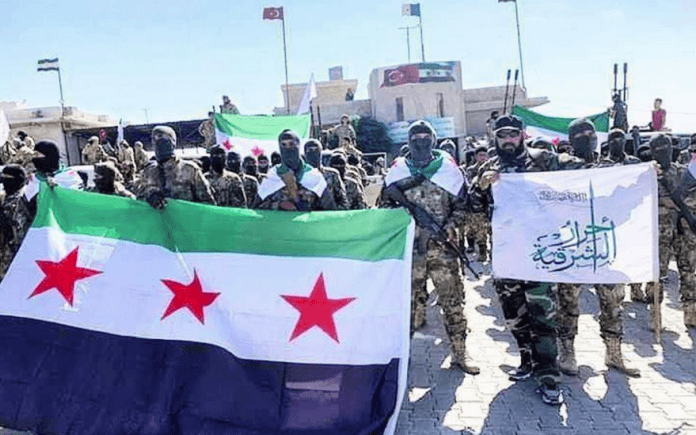 """USA-stödda """"moderata"""" rebeller slaktar kurder i Syrien"""