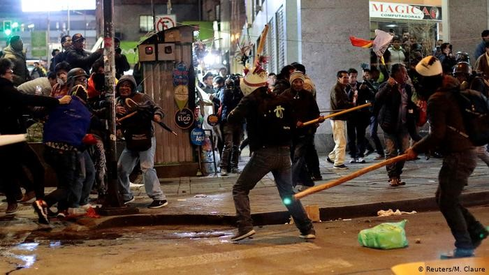 Statskupp på gång i Bolivia?