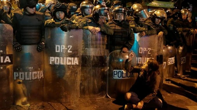 Vad säger Human Rights Watch om händelserna i Bolivia?