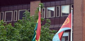 Bolivias ambassad i Stockholm. Privat foto.