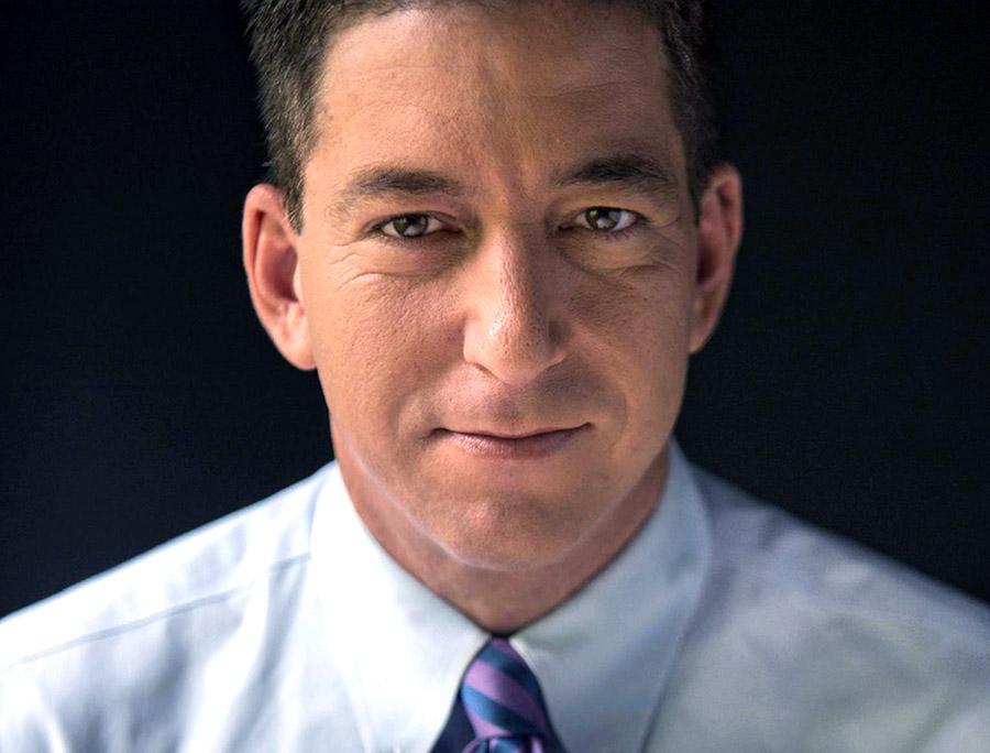 Glenn Greenwald, 2014. Foto: David dos Dantos. Licens: CC BY 3.0, Wikimedia