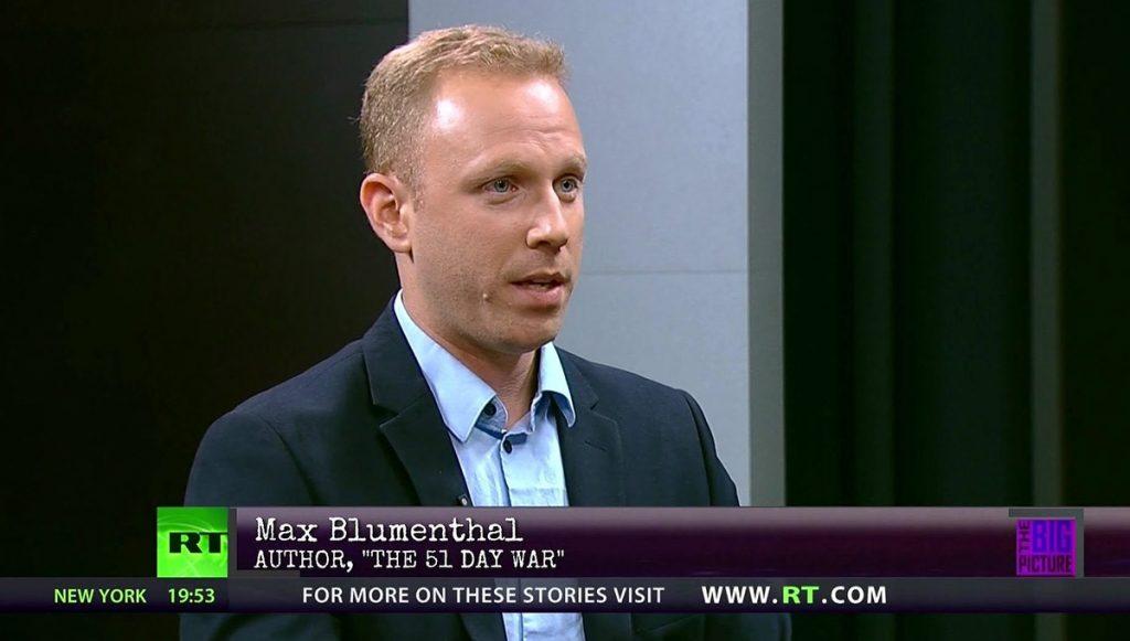 Max Blumenthal. Foto: RT.com