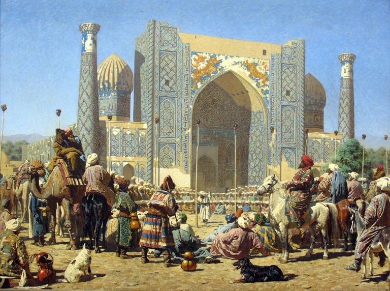Nya Sidenvägen: Hur påverkas Uzbekistan med dess rika historia?