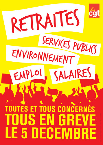 Varför strejkar fransmännen även idag?