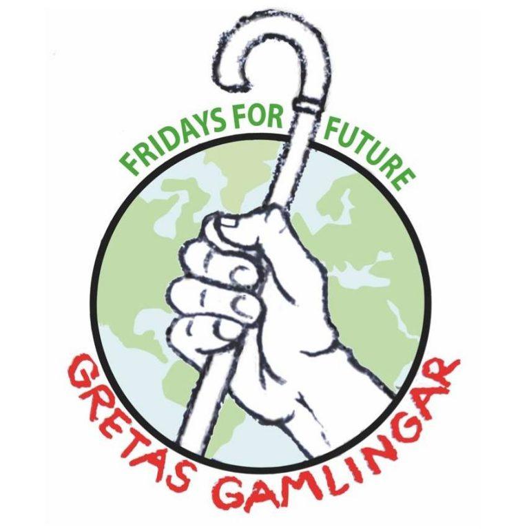 Gretas Gamlingar samlas åter på Kungsholms torg och andra ställen 24/1 kl 12. Kom med och stöd klimatkampen! Vad sa Greta i Davos?