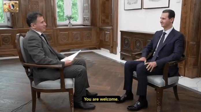 Syriens president Bashar al-Assad om Syrien, Kina och Sidenvägen