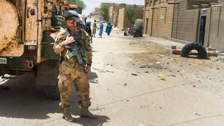 Sverige i Frankrikes krig i Mali.